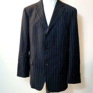 Hugo Boss Blazer Suit 100% Wool Made in USA 42S